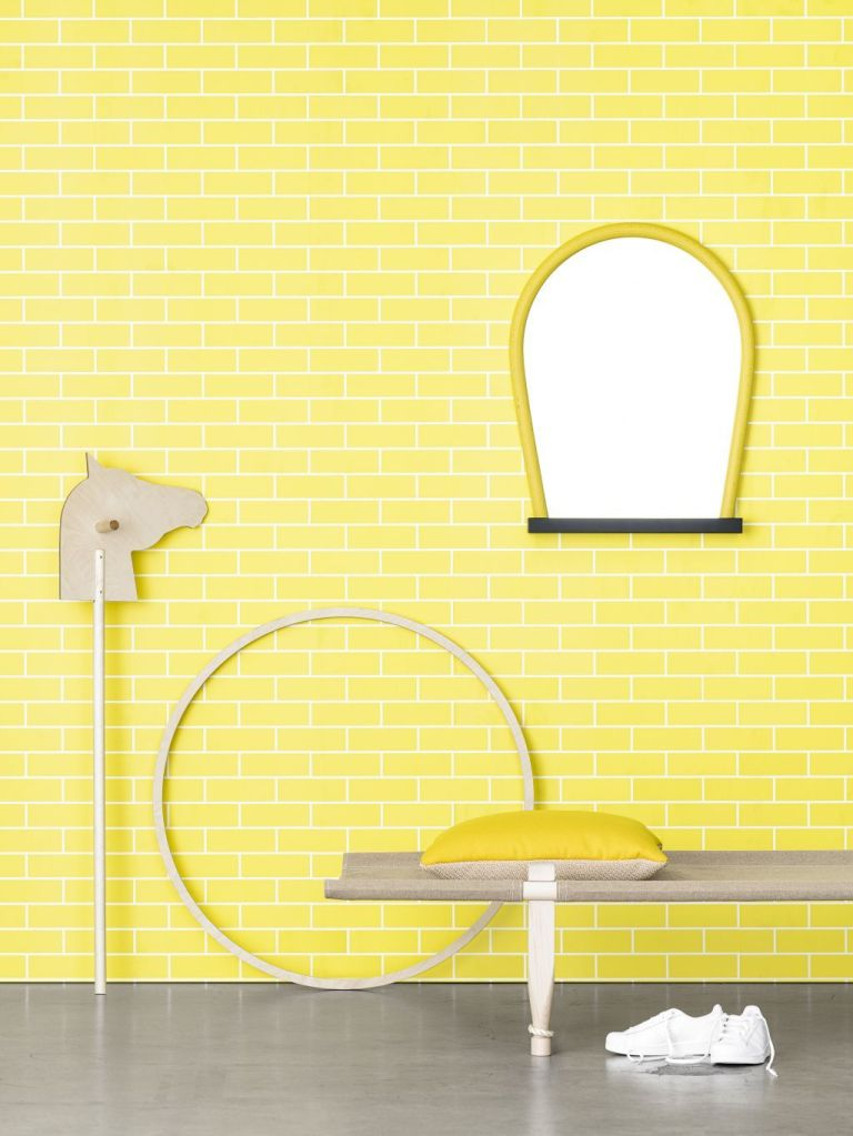 AcneJR tegel yellow Photowall