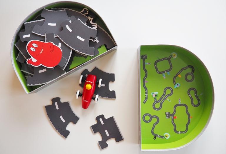 road puzzle