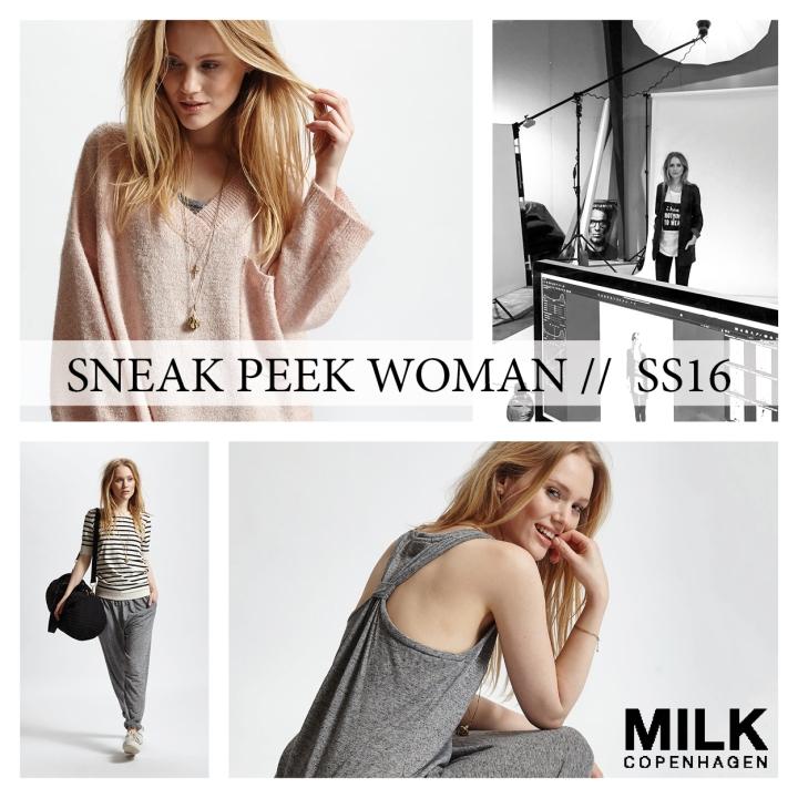 SNEAK PEEK milk woman